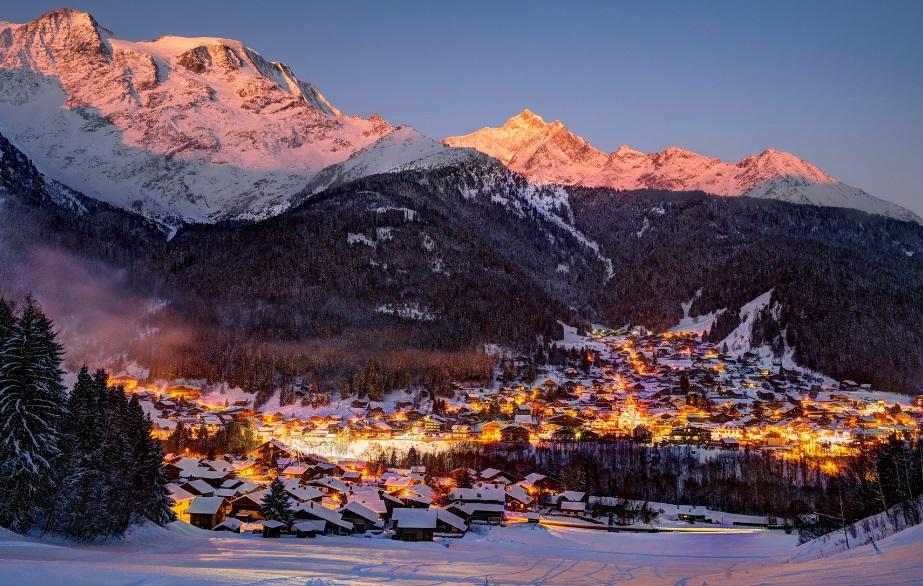 Station de ski les Contamines-Montjoie