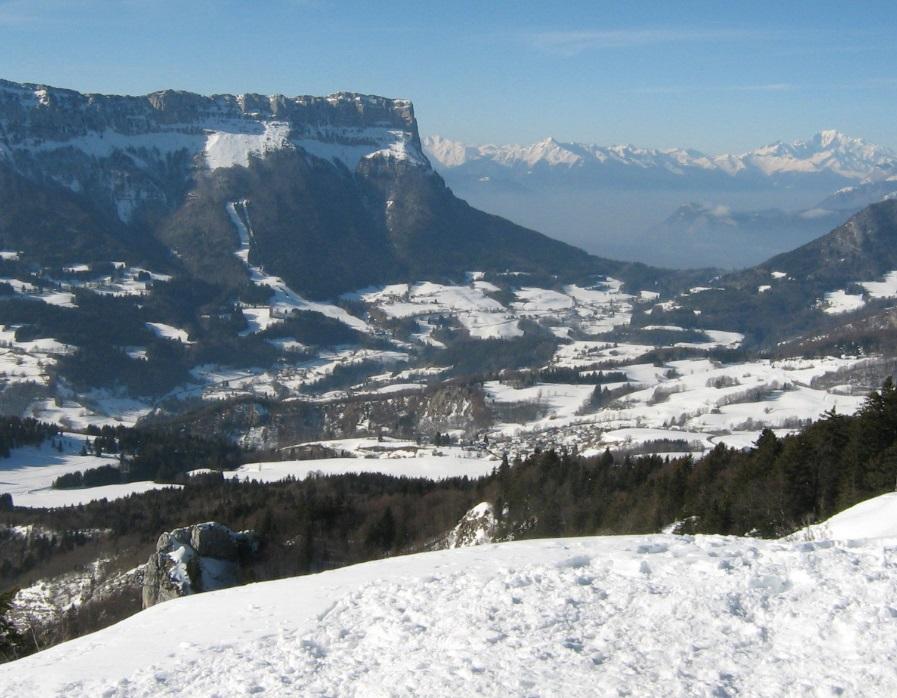Station de ski les Entremonts en Chartreuse