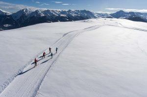 Ski de fond à Nâves