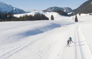 Ski de fond aux glières