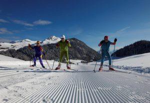 Skieur à bellevaux les mouilles