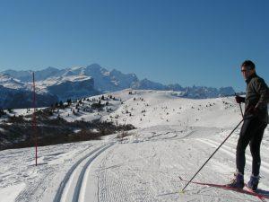 Skieur à le Haut-Giffre